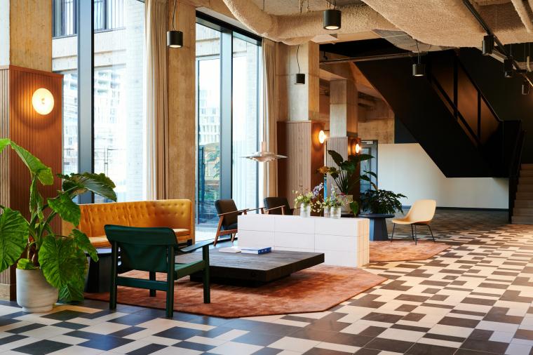 荷兰OurDomain学生公寓内部实景图