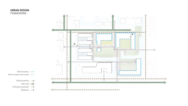 荷兰OurDomain学生公寓平面图
