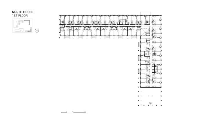荷兰OurDomain学生公寓平面图4