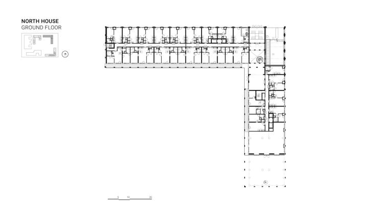 荷兰OurDomain学生公寓平面图2