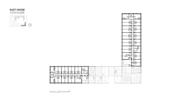 荷兰OurDomain学生公寓平面图7''