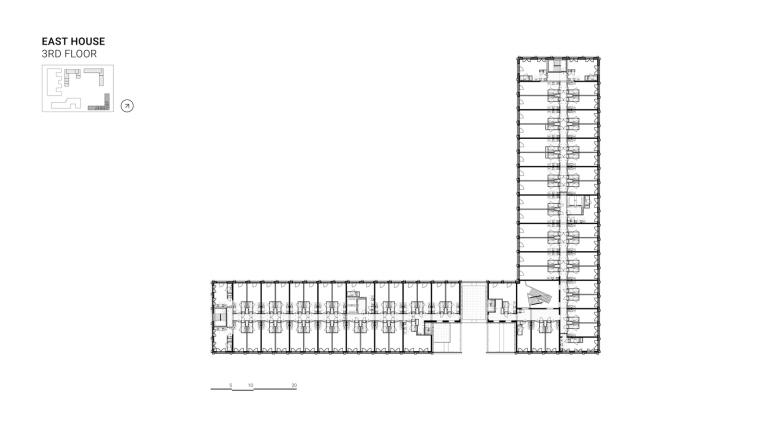荷兰OurDomain学生公寓平面图6