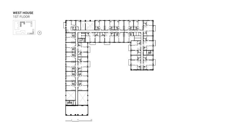 荷兰OurDomain学生公寓平面图9