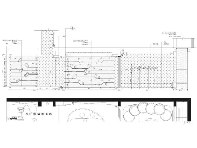 [北京]390㎡二层三居联排别墅施工图+3D模型-别墅立面图