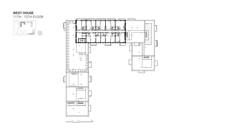 荷兰OurDomain学生公寓平面图11