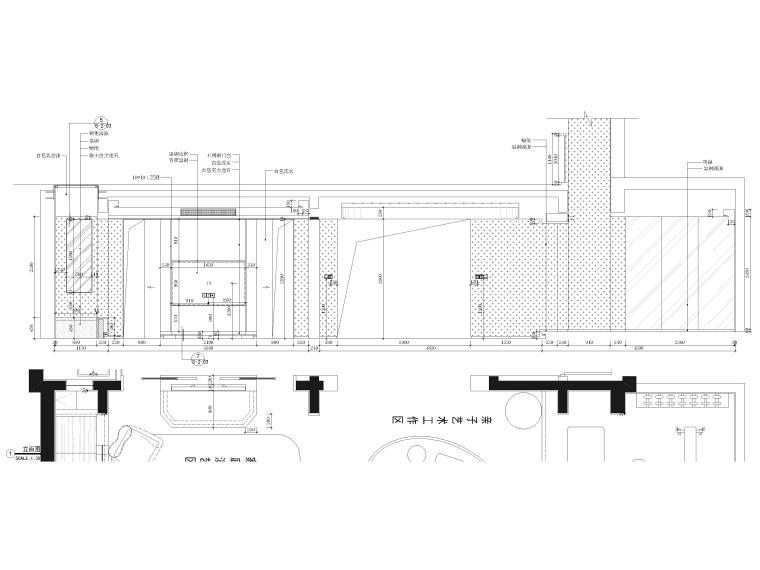 [北京]390㎡二层三居联排别墅施工图+3D模型-别墅立面图2
