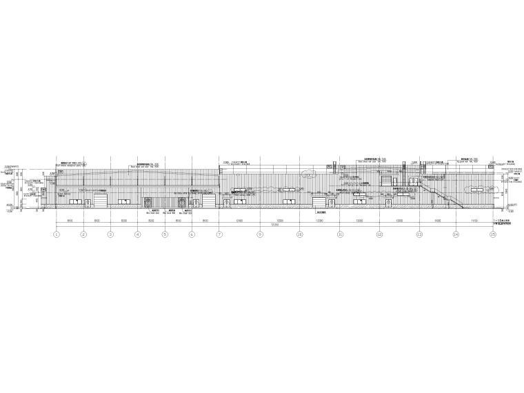 [太仓]2层钢结构汽车车间全套施工图2019-建筑立面图