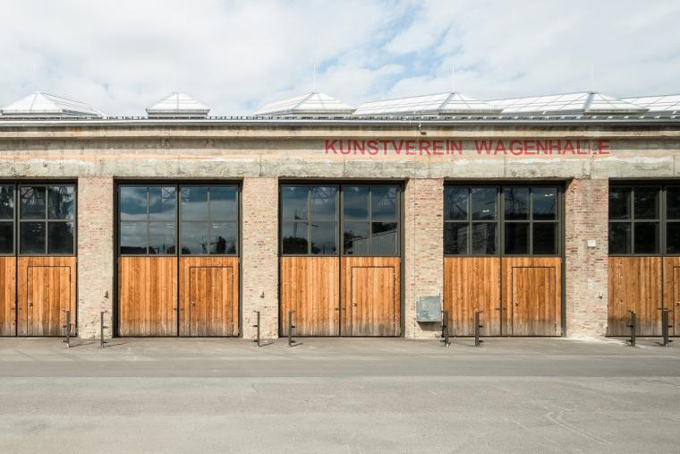 德国瓦根哈伦斯图加特文化中心外部实景图2