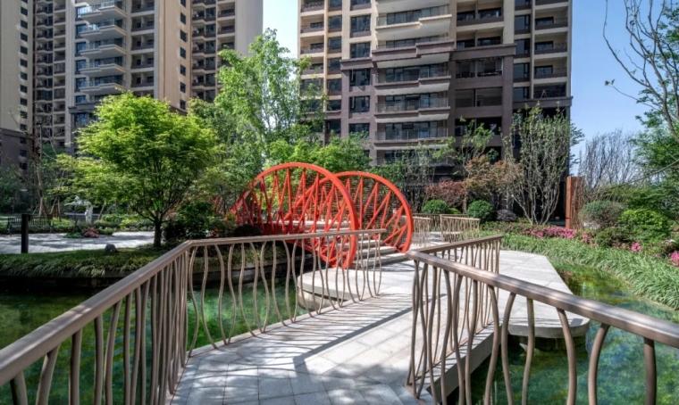 成都中国铁建西派泊玥住宅景观实景图16