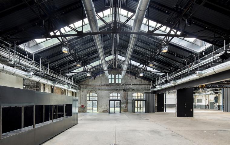 德国瓦根哈伦斯图加特文化中心内部实景图1