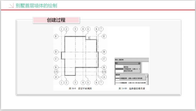 工业设计研究院BIM知识精讲四(252页)-别墅首层墙体绘制