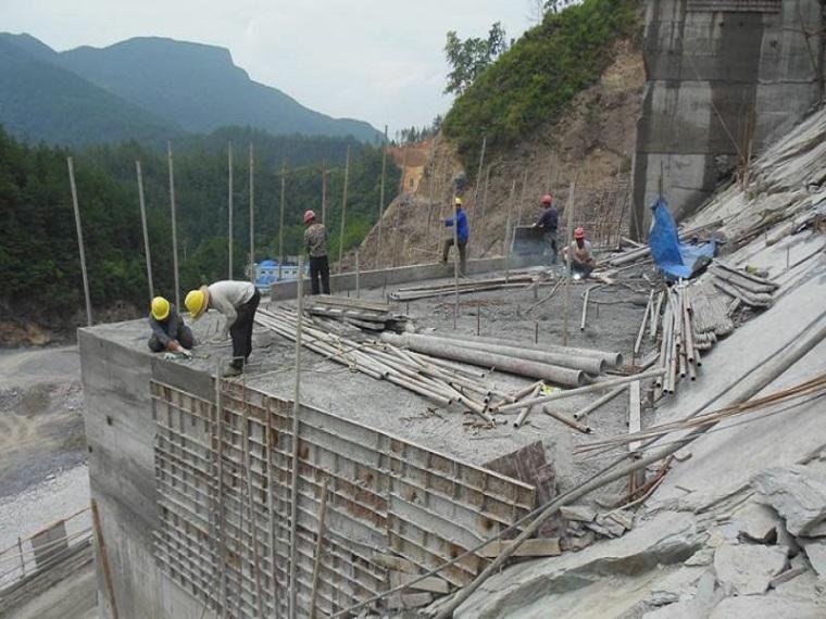 水库大坝施工技术质量控制.-施工现场