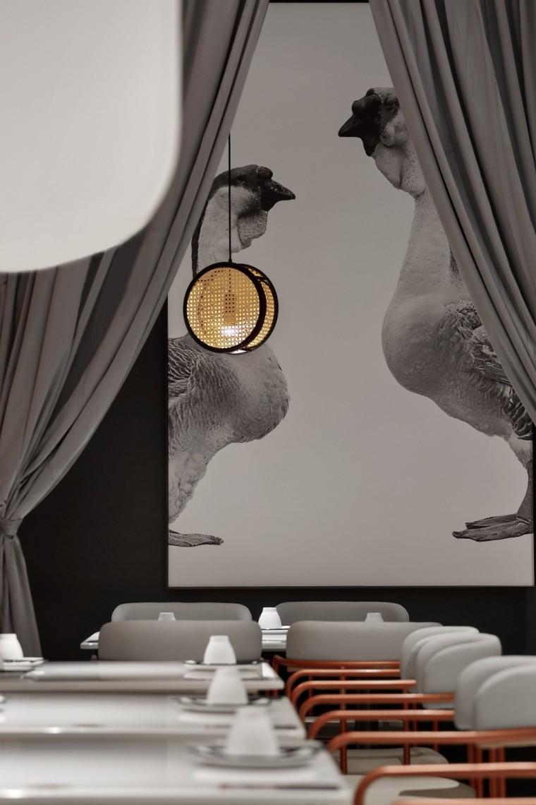 珠海日日香鹅肉饭店室内实景图2