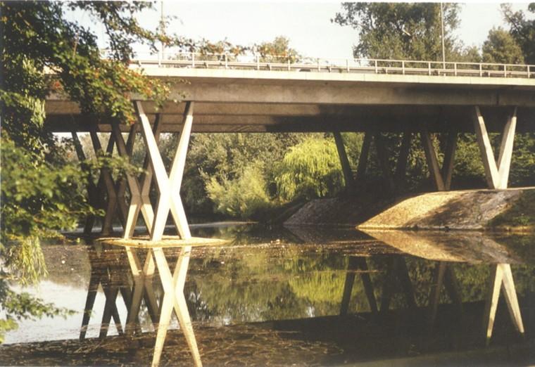桥梁墩台的设计、构造及计算-X型桥墩