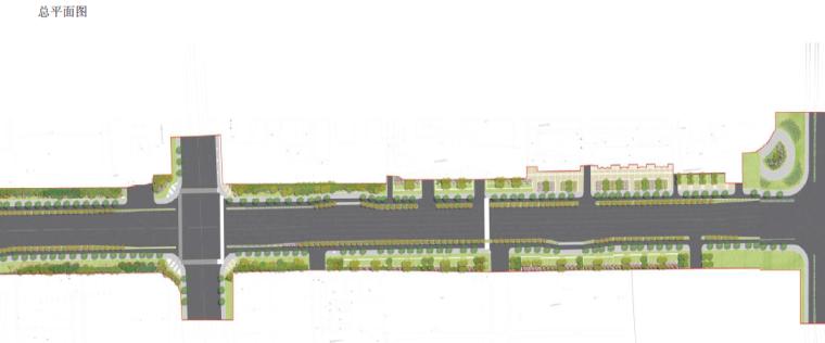 [江苏]宜兴科技工业园道路景观规划方案-总平面图