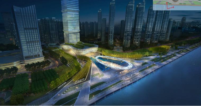 [湖北]宜昌山水新城滨江公园景观设计方案-时光环效果图