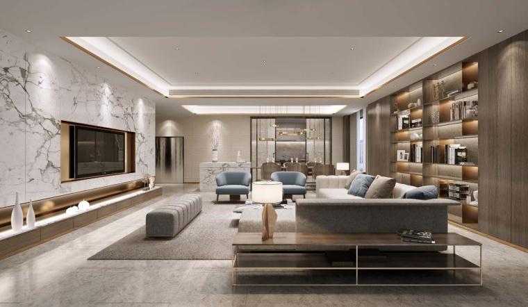 北京别墅样板间设计方案+设计方案_93P-0026