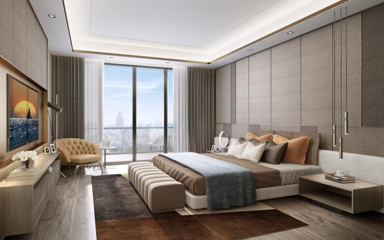 北京别墅样板间设计方案+设计方案_93P-0037