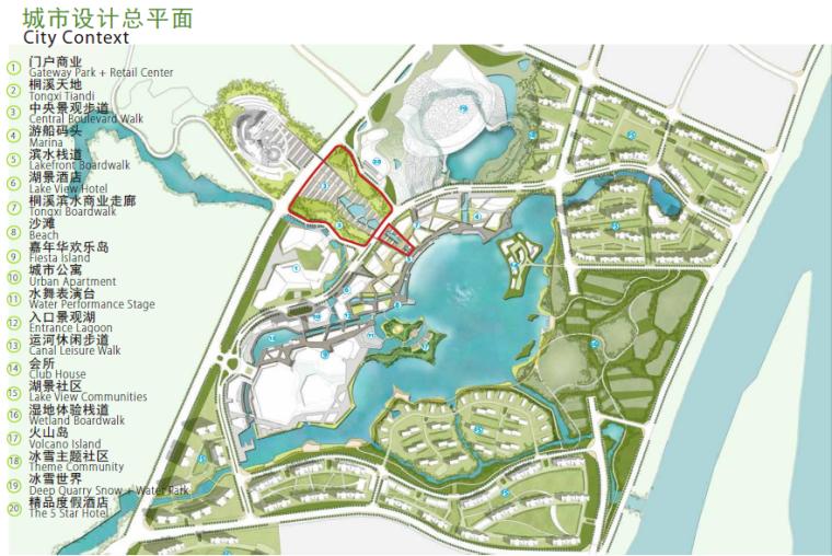 [长沙]休闲活力市民公园景观设计方案-总平面图
