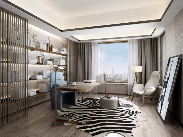 北京别墅样板间设计方案+设计方案_93P-0045