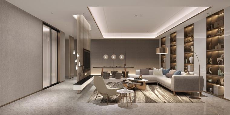 北京别墅样板间设计方案+设计方案_93P-0057