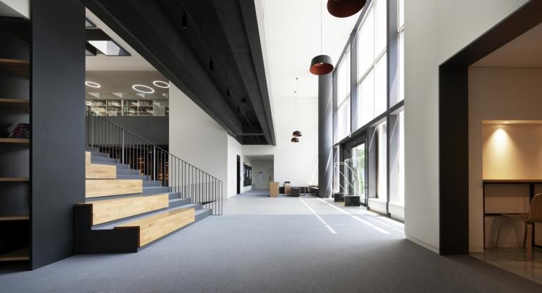 韩国独山图书馆室内实景图11