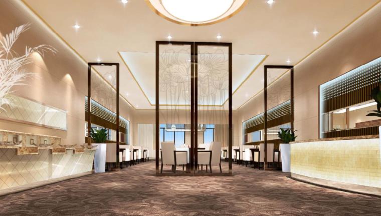 镇江酒店装饰工程方案设计-5-餐厅