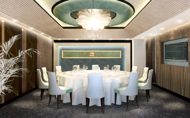 镇江酒店装饰工程方案设计-6-VIP包间