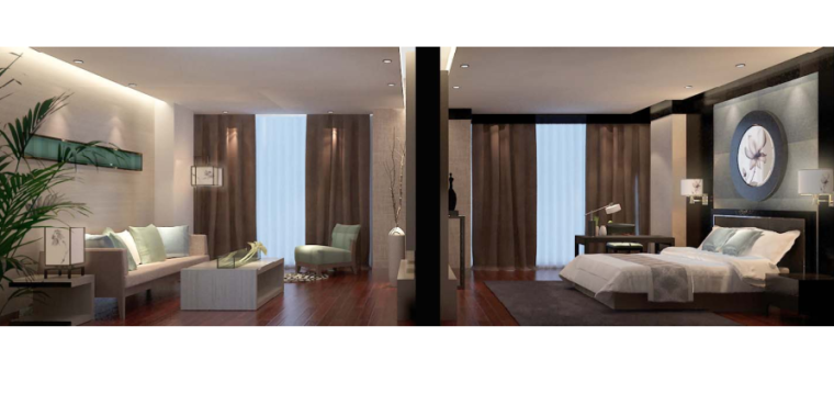 镇江酒店装饰工程方案设计-7-客房