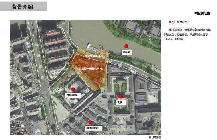 [江苏]淮安慈云禅寺国师塔及周边地块设计-3-规划范围