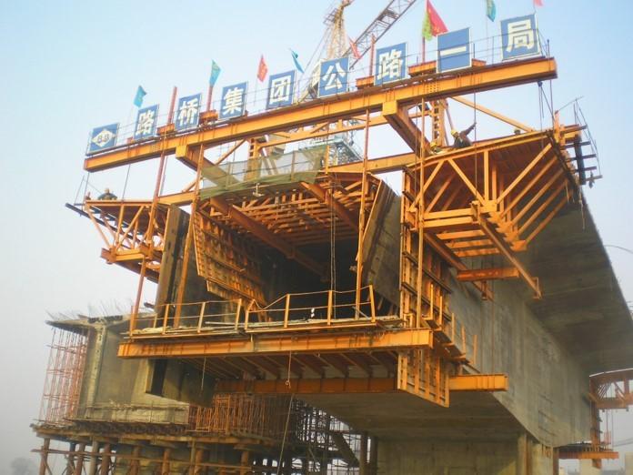 桥梁常备式结构与主要施工设备-挂篮动力