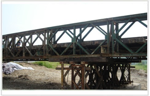 桥梁常备式结构与主要施工设备-贝雷梁