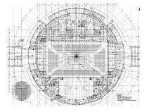 湖南大型体育中心给排水消防喷淋系统设计图