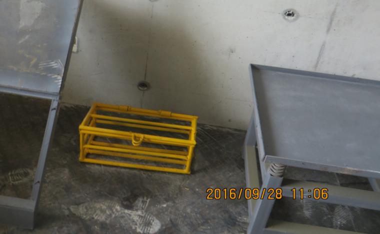 建筑工程施工项目参观优秀做法PPT-07 同养试块存放笼