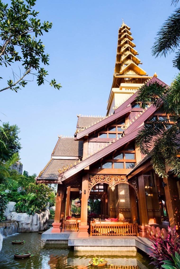 [泰国]西双版纳避寒皇冠假日酒店施工图-Hotel Exterior (2)