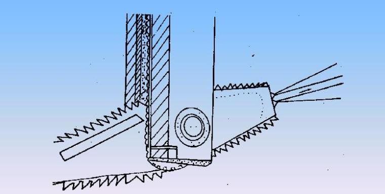 地基处理的高压喷射注浆法-搅拌示意图