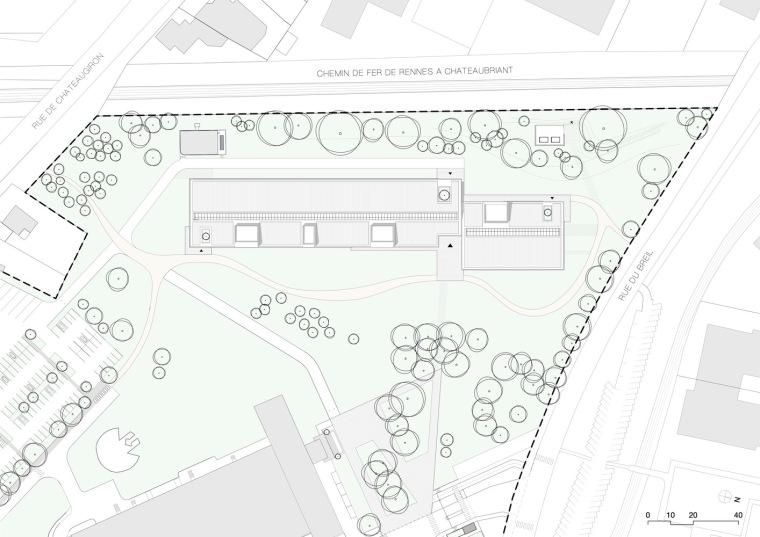 法国Additi办公楼平面图