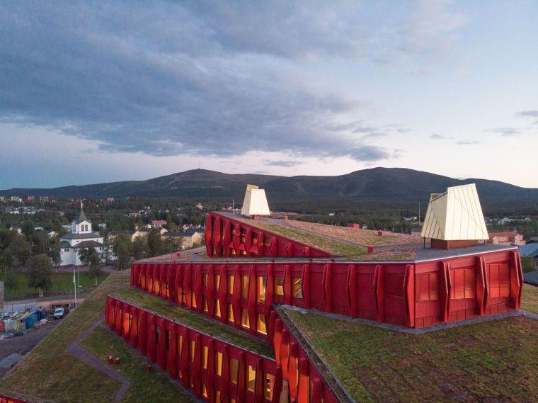 瑞典知识教育中心大厦外部实景图
