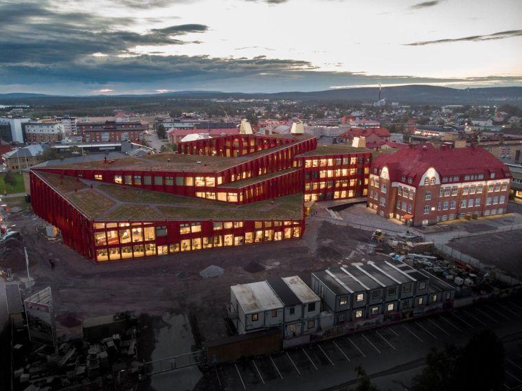 瑞典知识教育中心大厦外部实景图2