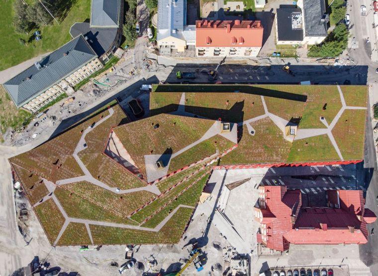 瑞典知识教育中心大厦外部实景图9