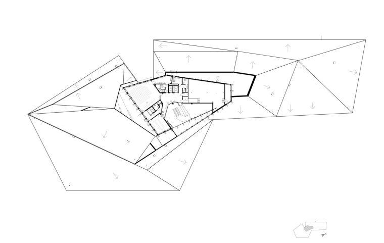 瑞典知识教育中心大厦平面图