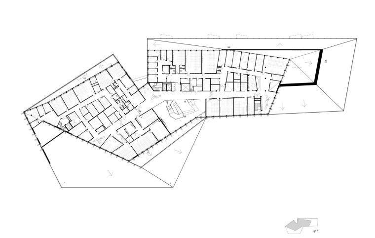 瑞典知识教育中心大厦平面图4