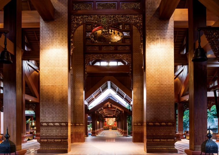 [泰国]西双版纳避寒皇冠假日酒店施工图-Hotel Lobby