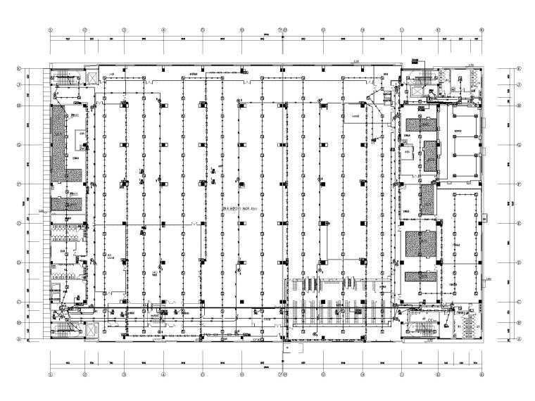 [广东]多层工业厂房电气招标图(含自控)-4火警平面布线图