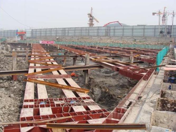 基坑补偿装配式H型钢支撑技术(2019年)-基坑补偿装配式H型钢支撑技术