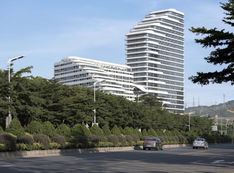 深圳地铁长圳车辆段综合楼外部实景图7