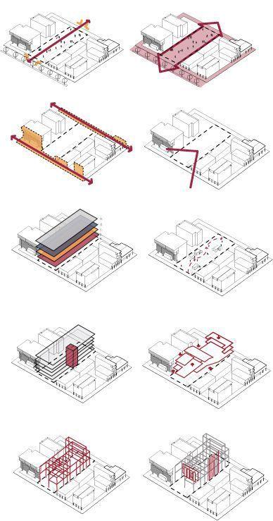 建筑作品集分析图,不是那样画!_9