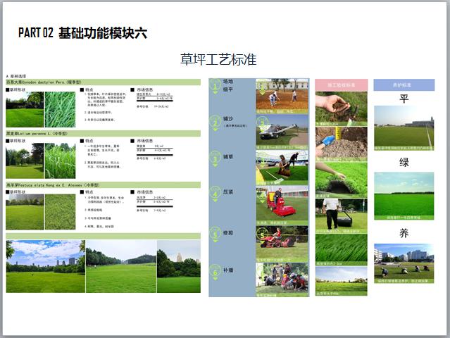 全龄社区景观产品设计标准化手册(图文并茂)-草坪工艺标准