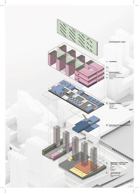 建筑作品集分析图,不是那样画!_15