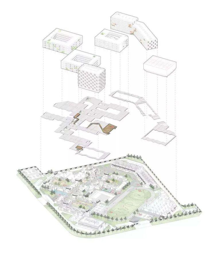 建筑作品集分析图,不是那样画!_14